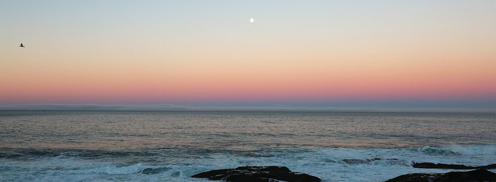 Sunset on the Mendocino Coast